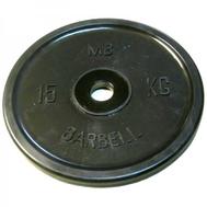 MB Barbell Евро-классик диск 15 кг, фото 1